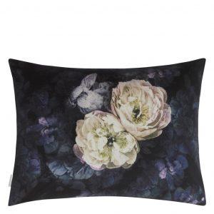 Designers Guild kussen Le Poeme De Fleurs Midnight