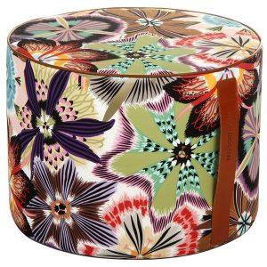 Missoni Home cilinder poef Passiflora T59
