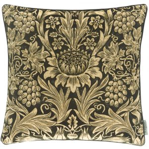 Morris & Co kussen Sunflower Velvet Maple-Lichen
