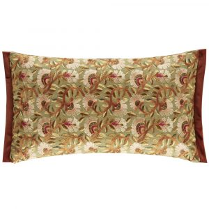 Morris & Co kussen Wardle Embroidery Olive-Brick