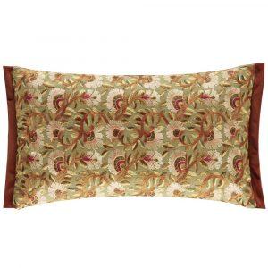 Morris & Co kussen Wardle Embroidery Olive-Brick