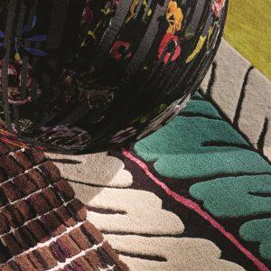 Christian Lacroix tapijt Geisha Prisme