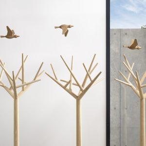 Klybeck staande kapstok Y eikenhout