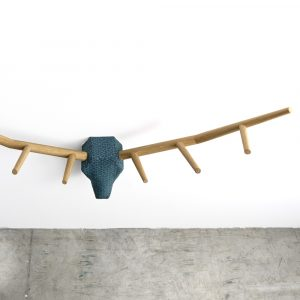 Klybeck houten wand kapstok Hunting Trophy YY