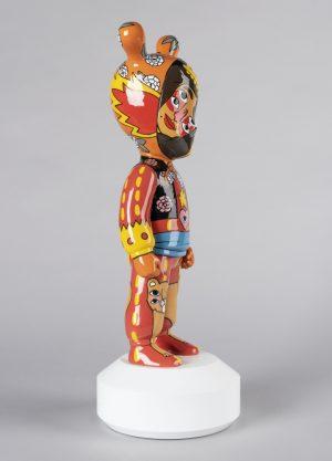 Lladró figuur The Guest door Ricardo Cavolo - groot - limited edition