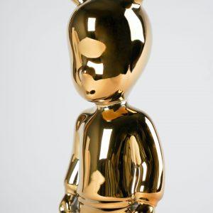 Lladró figuur The Guest klein goud
