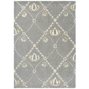 Morris & Co tapijt Trellis Lightish Grey