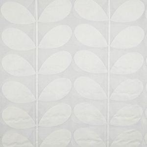 Orla Kiely vitrage gordijnstof Giant Stem White