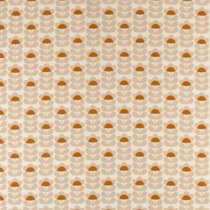 Orla Kiely gordijnstof Sweetpea Orange