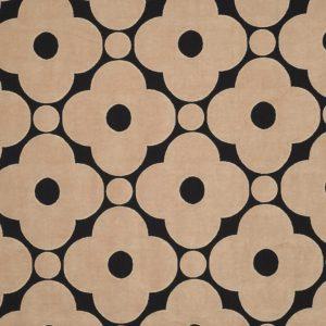 Orla Kiely meubelstof Velvet Spot Flower Tea Rose