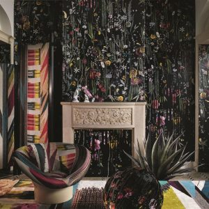 Christian Lacroix paneel behang Babylonia Nights Panoramic Crepuscule