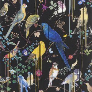 Christian Lacroix behang Birds Sinfonia Crepuscule