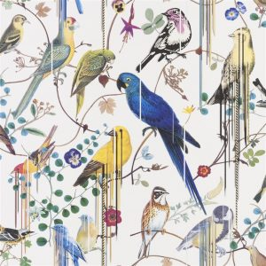 Christian Lacroix behang Birds Sinfonia Perce Neige