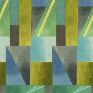 Designers Guild paneel behang Alphonse Azure