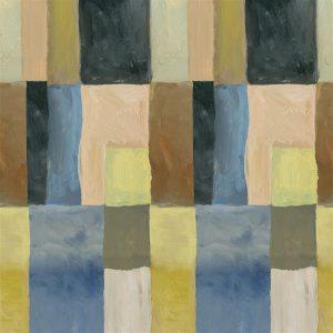 Designers Guild paneel behang Otto Mosaic Dusk