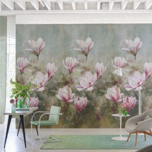 Designers Guild paneel behang Yulan Magnolia