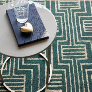 Ted Baker tapijt Kinmo Green