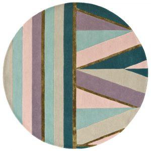 Ted Baker rond tapijt Sahara Pink