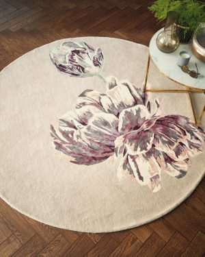 Ted Baker rond tapijt Tranquility Beige