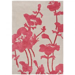 Florence Broadhurst tapijt Floral 300 Poppy