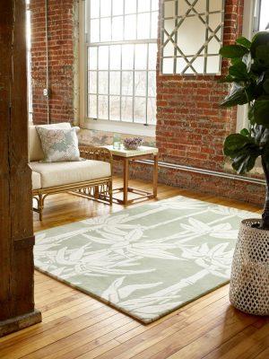 Florence Broadhurst tapijt Japanese Bamboo Jade