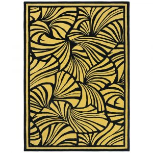 Florence Broadhurst tapijt Japanese Fans Gold