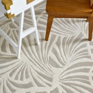 Florence Broadhurst tapijt Japanese Fans Ivory