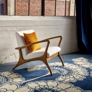 Florence Broadhurst tapijt Japanese Floral Oyster