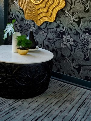 Florence Broadhurst tapijt Slub Mist