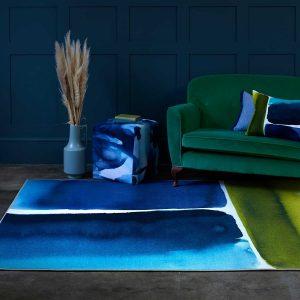 Bluebellgray vloerkleed Muralla Azure