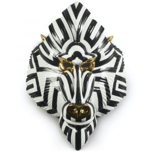 Lladró decoratief masker Mandrill