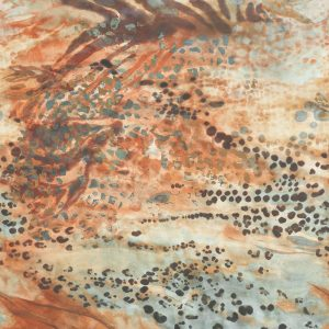 Casamance panoramisch behang Aurore Animale beige