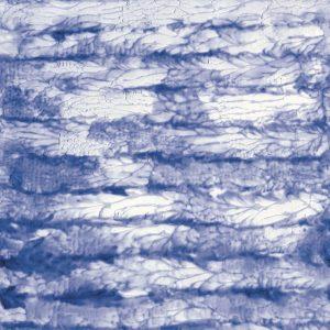 Casamance panoramisch behang Bleu du Paradis