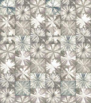 Casamance behang Fleurs Boreales beige