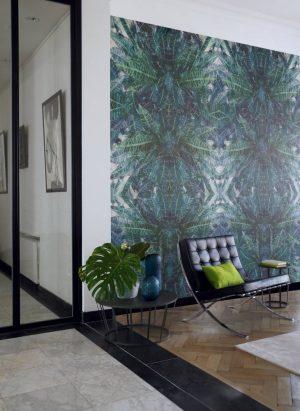 Casamance panoramisch behang Jungle Silk