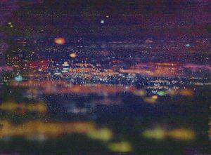 Casamance panoramisch behang La Ville Lumiere