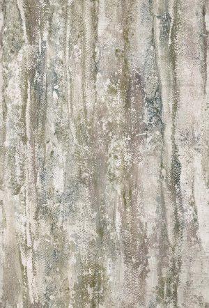 Casamance panoramisch behang Nymphea beige