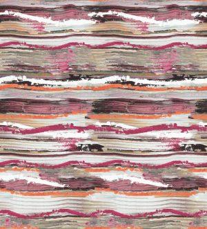 Casamance panoramisch behang Socorro rouge