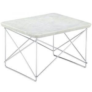 Vitra Eames Occasional Table LTR bijzettafel marmer