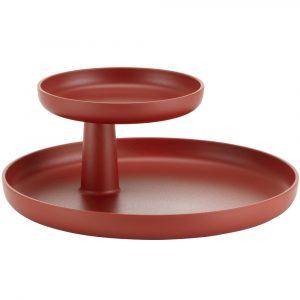 Vitra Rotary Tray donker steenrood
