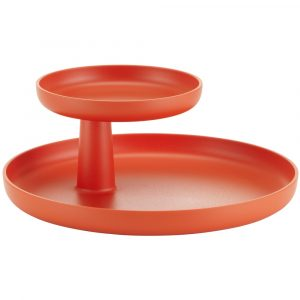 Vitra Rotary Tray poppy red