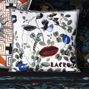 Christian Lacroix kussen Dame Nature Printemps