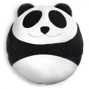 Leschi knuffelkussen Wang the Panda