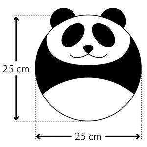Leschi warmtekussen Bao the Panda