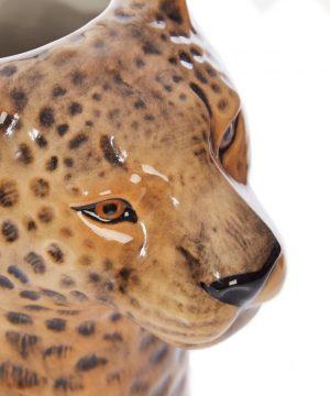 Quail Ceramics vaas Luipaard