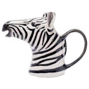 Quail Ceramics schenkkan Zebra