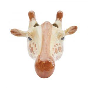 Quail Ceramics wandvaas Giraffe