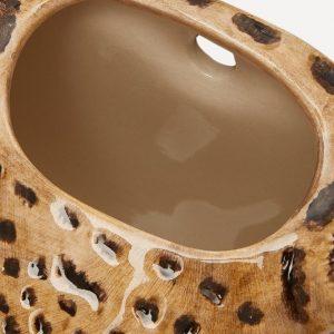 Quail Ceramics wandvaas Luipaard