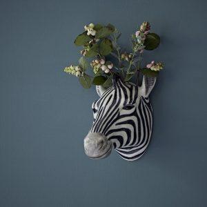 Quail Ceramics wandvaas Zebra