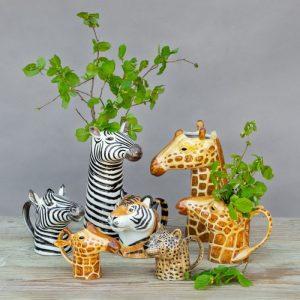Quail Ceramics schenkkan Luipaard